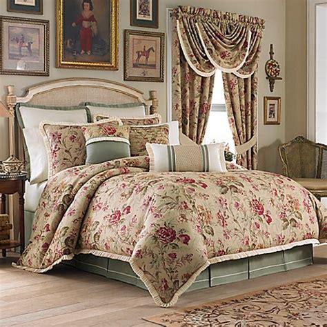 croscill 174 cottage rose comforter set bed bath beyond