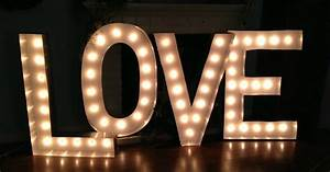 pop art minis all you need is love supersize marquee With love marquee letters for rent