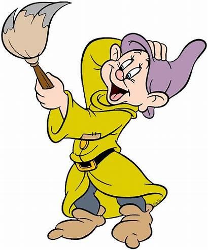 Dopey Clip Dwarf Clipart Grumpy Disney Birthday