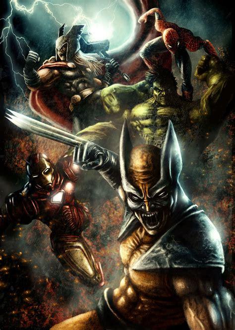 Wolverine Coolvibe Digital Artcoolvibe Digital Art