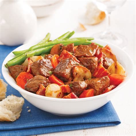 cuisine boeuf bourguignon bœuf bourguignon à la mijoteuse recettes cuisine et
