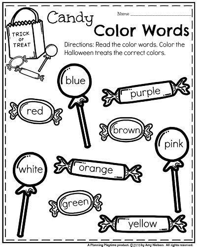 October Kindergarten Worksheets  Kindergarten Activities  Kindergarten, Kindergarten