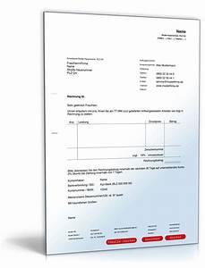 Rechnung Verkaufen : rechnung inland muster zum download ~ Themetempest.com Abrechnung