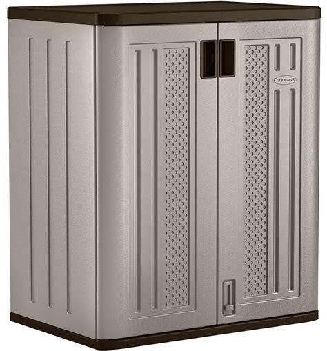 Suncast Storage Cabinets Garage by Resin Storage Cabinet In Storage Cabinets