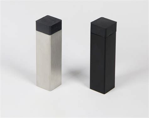 wall mounted door stops and modern square door stop baseboard wall mounted toronto
