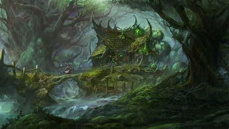 fantasy forest backgrounds