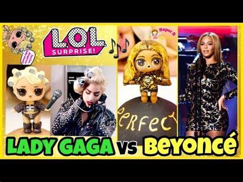 lol surprise lady gaga meets beyonce goo goo queen wave