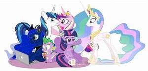 The gallery for --> Celestia And Luna R34