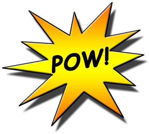 Pow Clipart Pow Sign Clipart Best