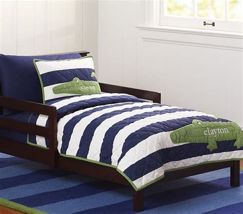 Toddler Bed Pottery Barn by Alligator Madras Toddler Quilt Pottery Barn
