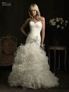 strapless mermaid wedding dresses sweetheart strapless mermaid wedding dresses with hem ipunya