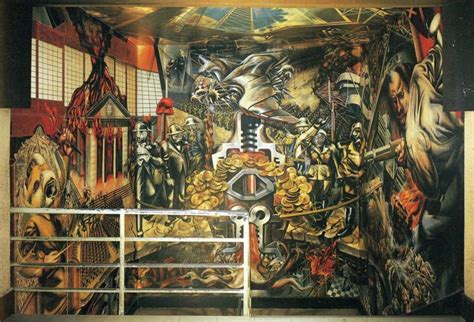 David Alfaro Siqueiros Murals by 187 Elections 2012 Coke Vs Pepsi