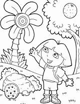 Dora Explorer Coloring Pages Bestappsforkids Learn Things sketch template