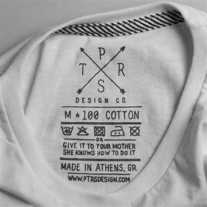ptrsdesign co t shirt label clothing tag washing With inside clothing labels