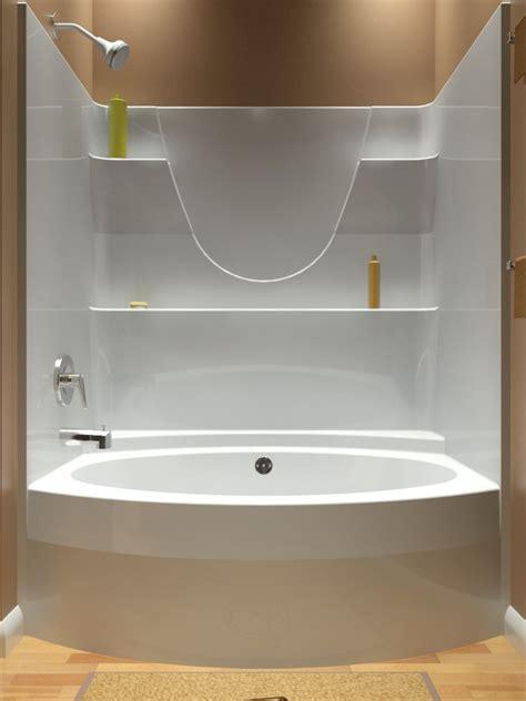 piece shower enclosures kohler sonata   walk