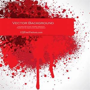 Blood Splatter Illustrator | 123Freevectors