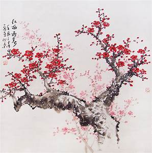 Cherry blossoms Chinese painting | Art | Pinterest ...