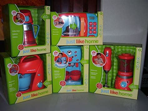 just like home kitchen just like home children s kitchen appliances set 6 pc