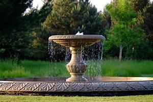 Grand, Single, Tier, 3m, Sandstone, Stone, Water, Fountain, Feature