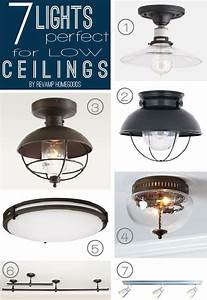 Ideas about low ceiling lighting on