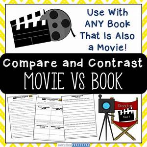 Compare And Contrast A Book And Movie Activities