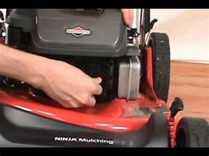 Replacing The Spark Plug - Snapper Lawn Mower