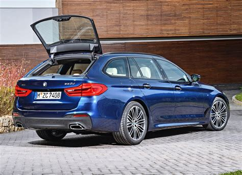 Bmw 5 Series Touring 2019 2019 bmw 5 series touring trunk space new suv price