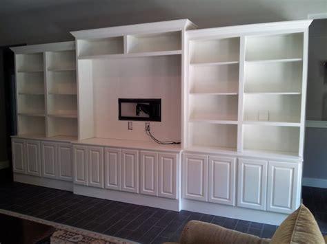 jaimes custom cabinets white entertainment center built
