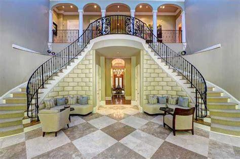 stunning gated estate  atlanta  grand staircase