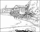 Designlooter Lahaina sketch template