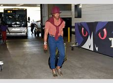 Cam Newton Rolls Up To Preseason In Maybe His Most WTF