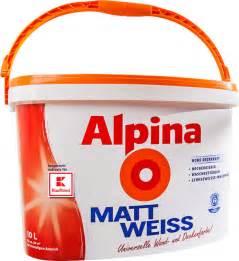 Wandfarbe Im Angebot : alpina wandfarbe mattwei bei kaufland f r 14 99 anstatt 29 95 ~ Frokenaadalensverden.com Haus und Dekorationen
