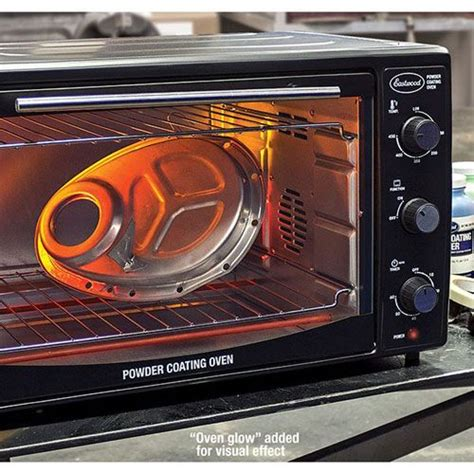 Powder Coat Toaster Oven - now you can powder coat at home without ruining your