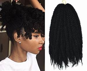 Marley Afro Braid Hair Extensions, Kinky Curly Bulk Twist ...