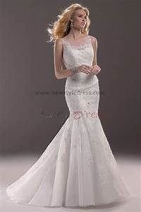 elegant wedding dresses with straps With cheap wedding dresses mermaid style