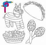 Mexico Coloring Mexican Restaurant Vector Illustration Activities Sombrero Entertained Keep Animals Friendly Kid Children Favorite Illustrations Wild Maracas El Child sketch template