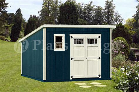 10 by 12 shed plans free shed plans 10 x 12 deluxe modern roof style d1012m