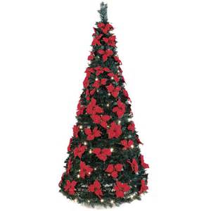 Artificial Decorated Tabletop Christmas Trees