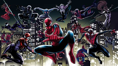 spider man   spider verse  wallpapers hd wallpapers id