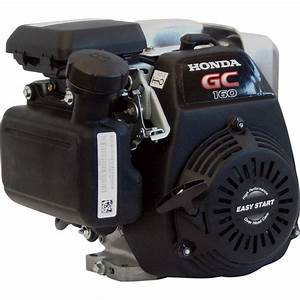 Honda Gc Series Horizontal Ohc Engine  U2014 160cc  3  4in  X 2 7  16in  Shaft  Model  Gc160laqhg