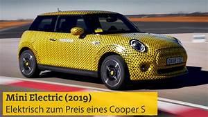 Mini Exzenterschleifer Elektrisch : mini electric 2019 rein elektrisch zum preis eines ~ A.2002-acura-tl-radio.info Haus und Dekorationen