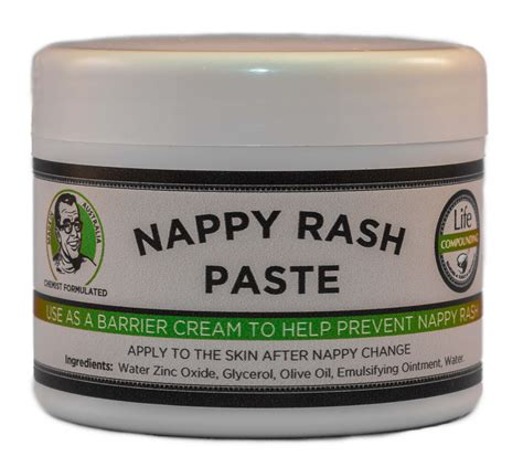 Baby Nappy Rash Paste 100g Life Compounding