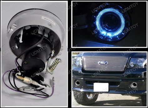 2006 2008 ford f150 halo projector clear housing fog lights