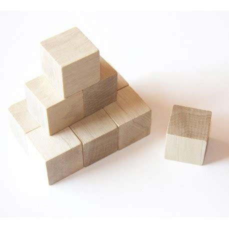 Cube En Bois Cubes En Bois De 3 Cm De C 244 T 233 Lot De 20 H 234 Tre Naturel