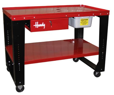 Transmission Work Bench by New Handy Industries Deluxe Steel Tear Work Bench