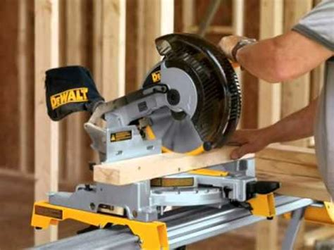 dewalt dw713 10 inch compound miter saw product review