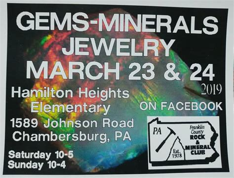 gem mineral jewelry show march ship saves