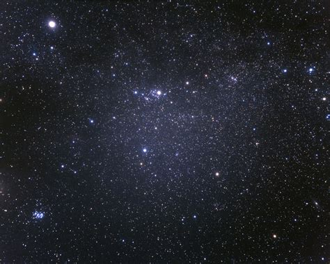 Wide Field View The Perseus Constellation Ground Based