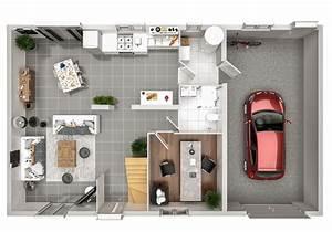 Plan Pour Maison : modele de maison individuelle malmo par plurial home expert ~ Melissatoandfro.com Idées de Décoration