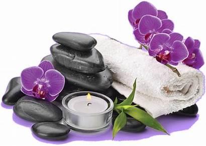 Candle Spa Lavender Stone Clipart Towel Massage